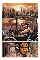 The urban legend issue #0 page 01.