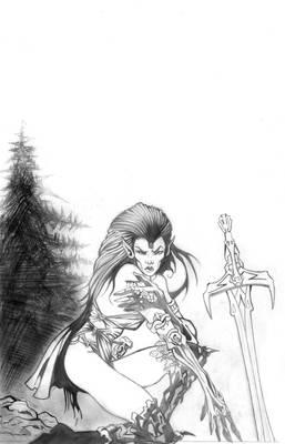 pencil for Woman magic sword.