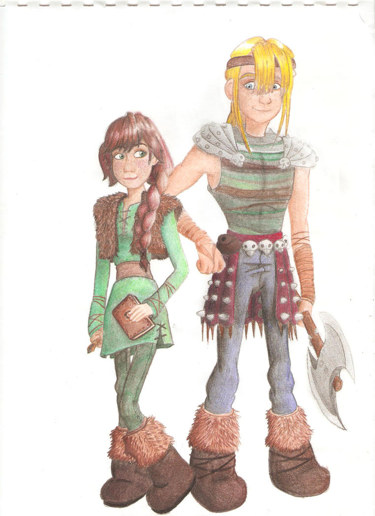 Hallie and asgard aka hiccup and astrid genderswap by artlesa on hallie and asgard aka hiccup and astrid genderswap by artlesa ccuart Image collections