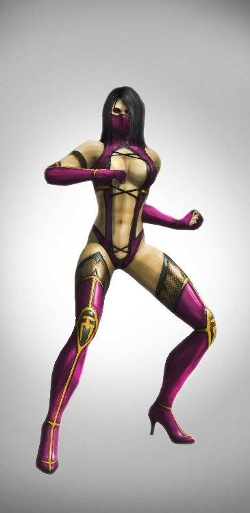 Mileena UMK3 render by SrATiToO