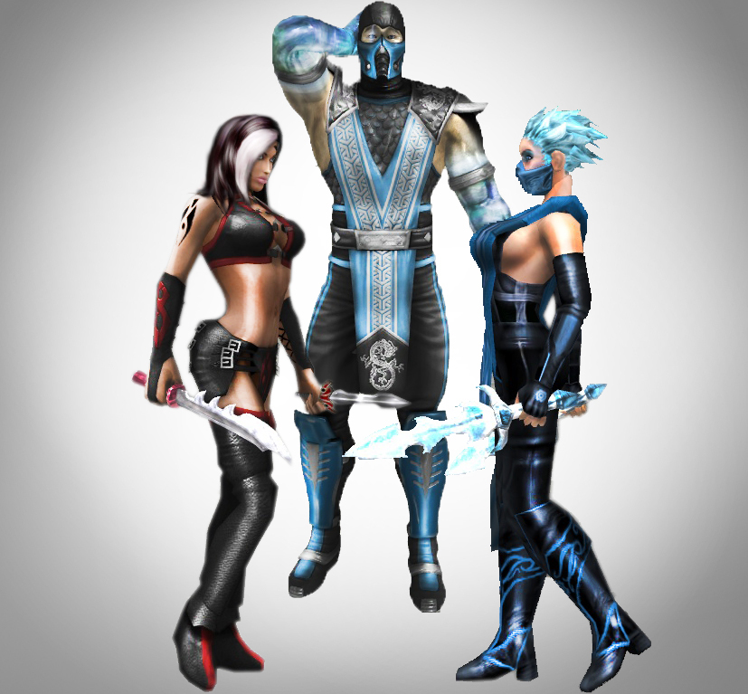 Mortal Kombat Skarlet And Sub Zero – images free download