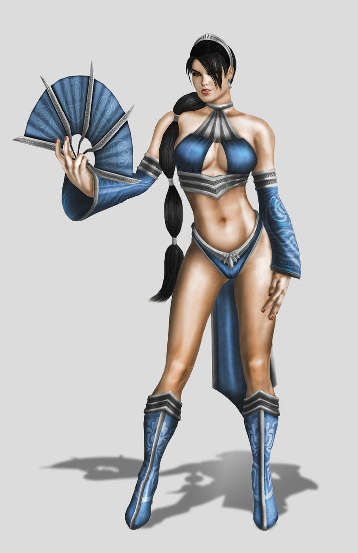 Kitana mk9 alternate costume by SrATiToO
