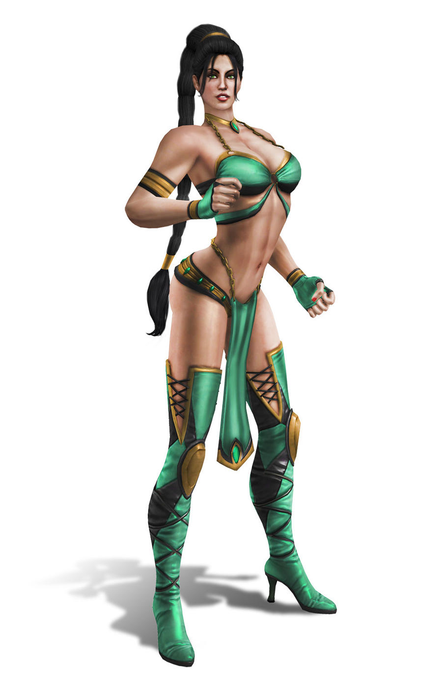 Jade alternate costume 2 by SrATiToO