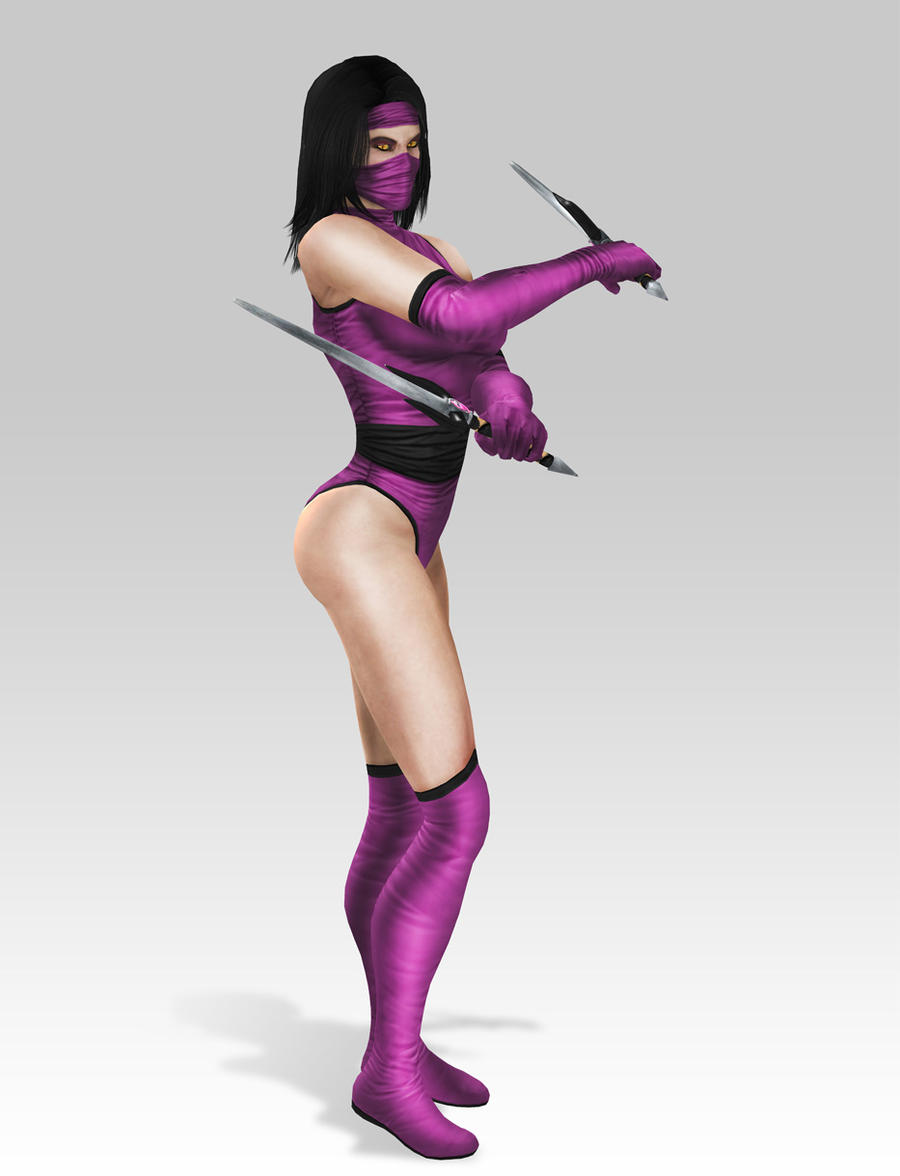 Mileena Mk2 Costume by SrATiToO