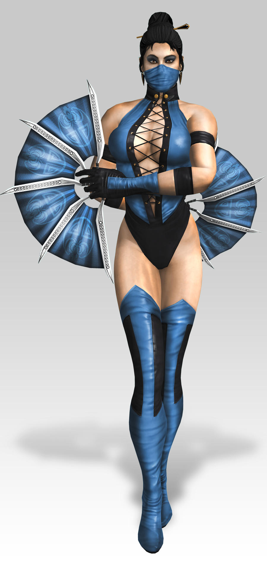 Kitana MK3 Costume by SrATiToO