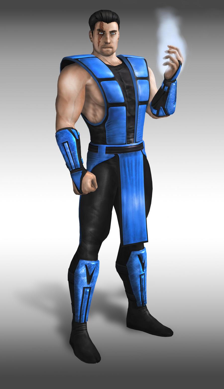 Sub zero mk9 alternate costume