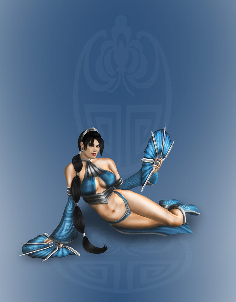 Hot Princess kitana by SrATiToO