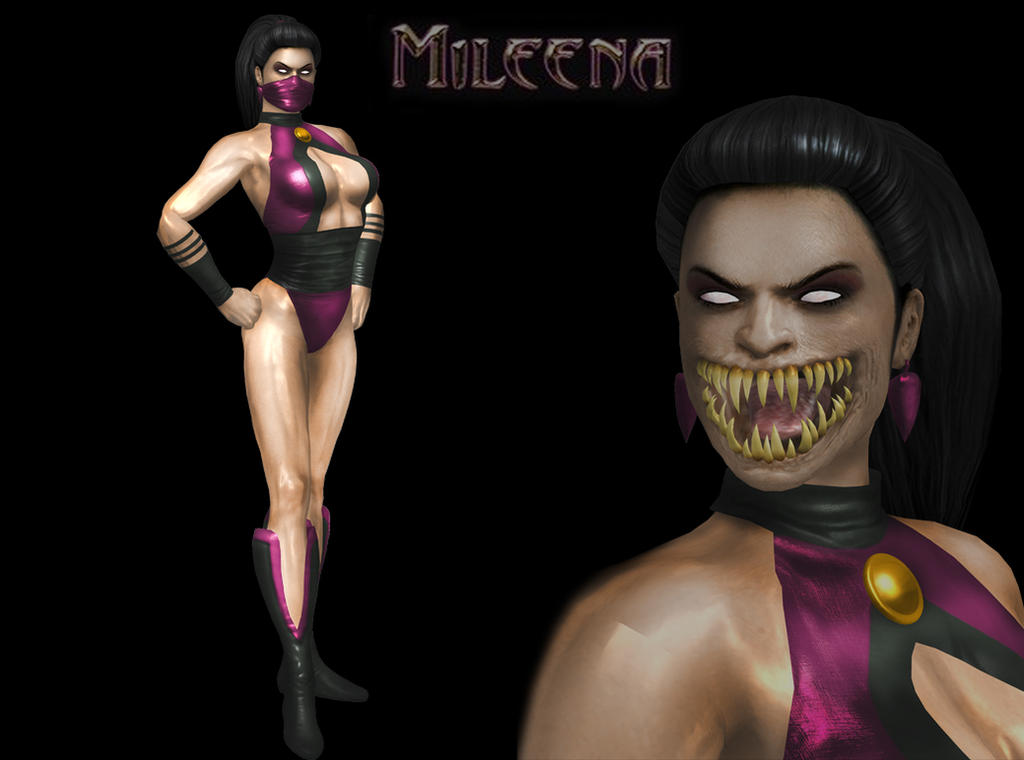 MILEENA MORTAL KOMBAT GOLD by SrATiToO on DeviantArt