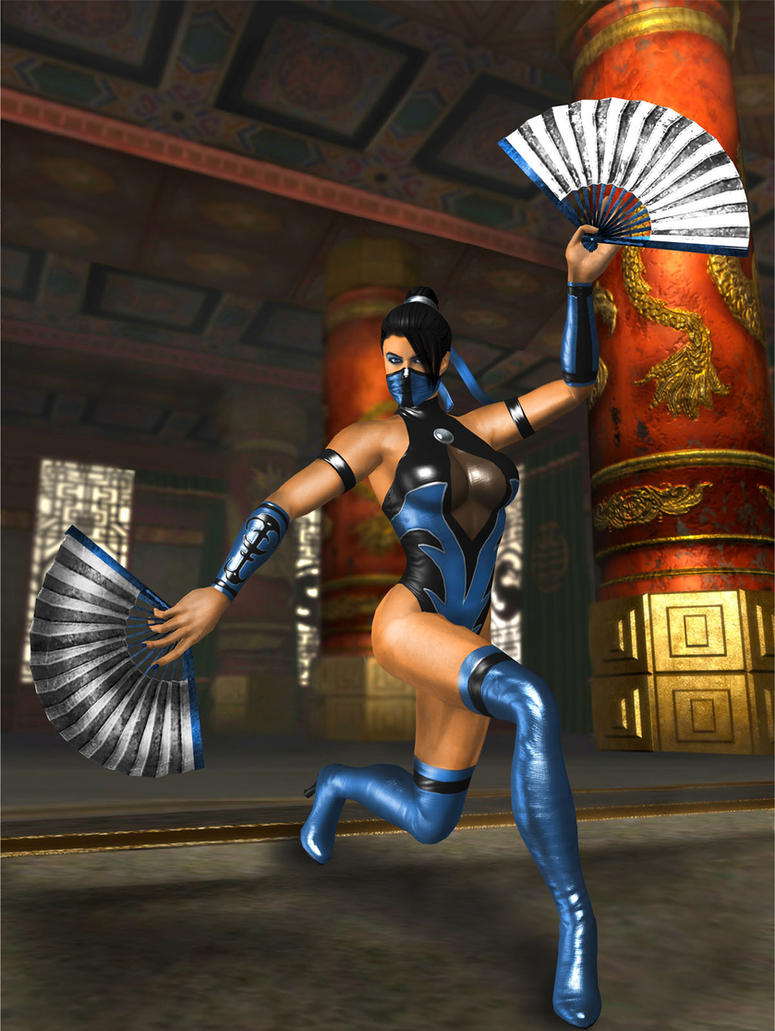 KITANA MKSM NEW RENDER by SrATiToO