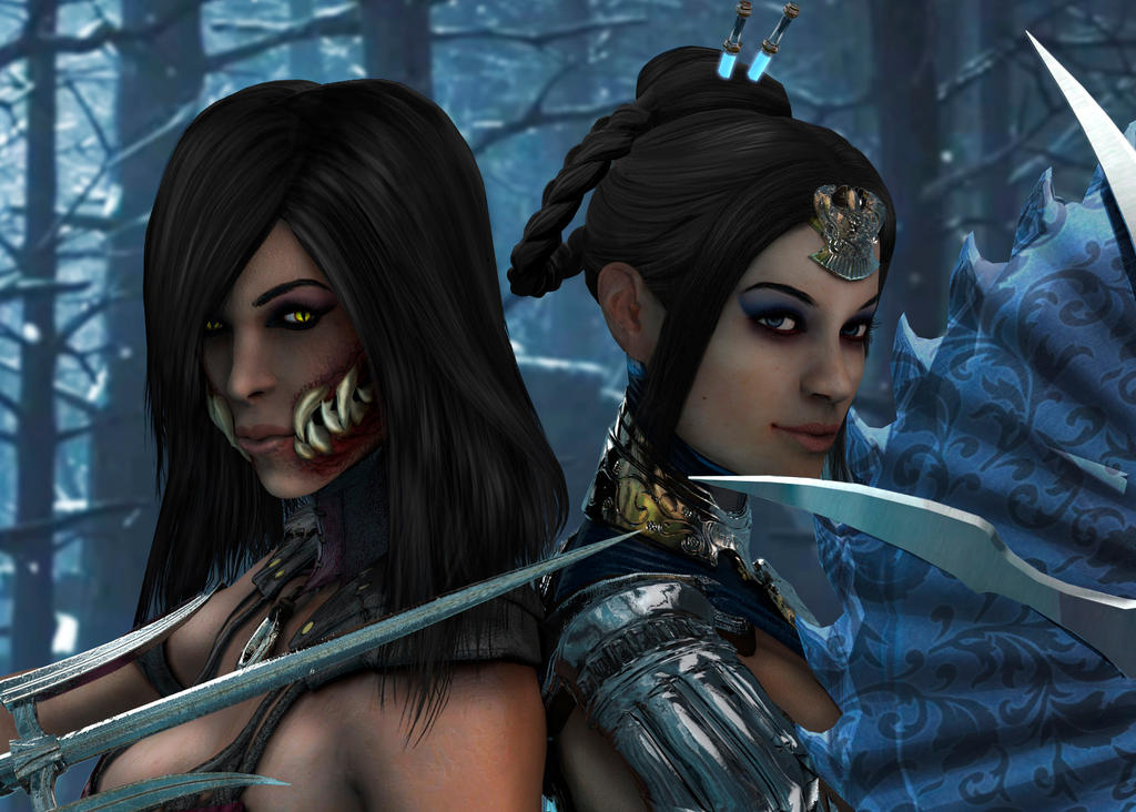 MK SISTERS by SrATiToO