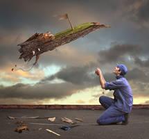 Learn to Fly by Cakobelo