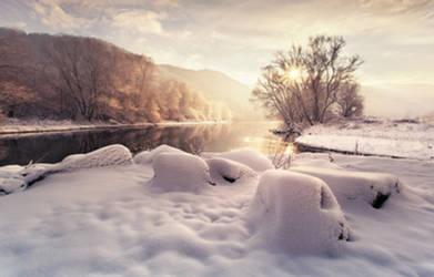 Winter morning by Cakobelo