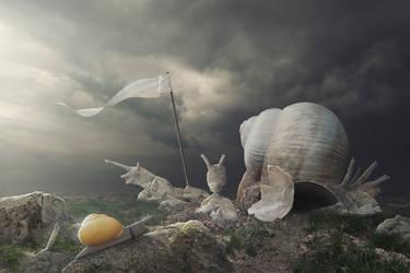 Temple of Snail by Cakobelo