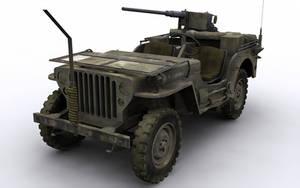 WW2 Jeep by simjoy
