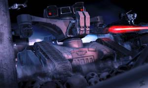Terminator HK tank by simjoy