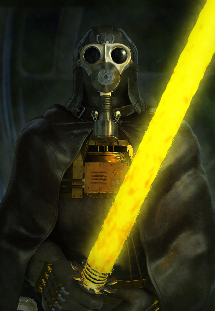 Steampunk Darth Vader by simjoy