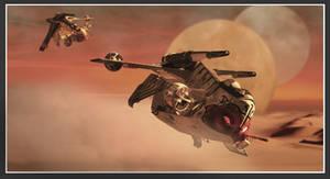 star wars republic gunship by simjoy