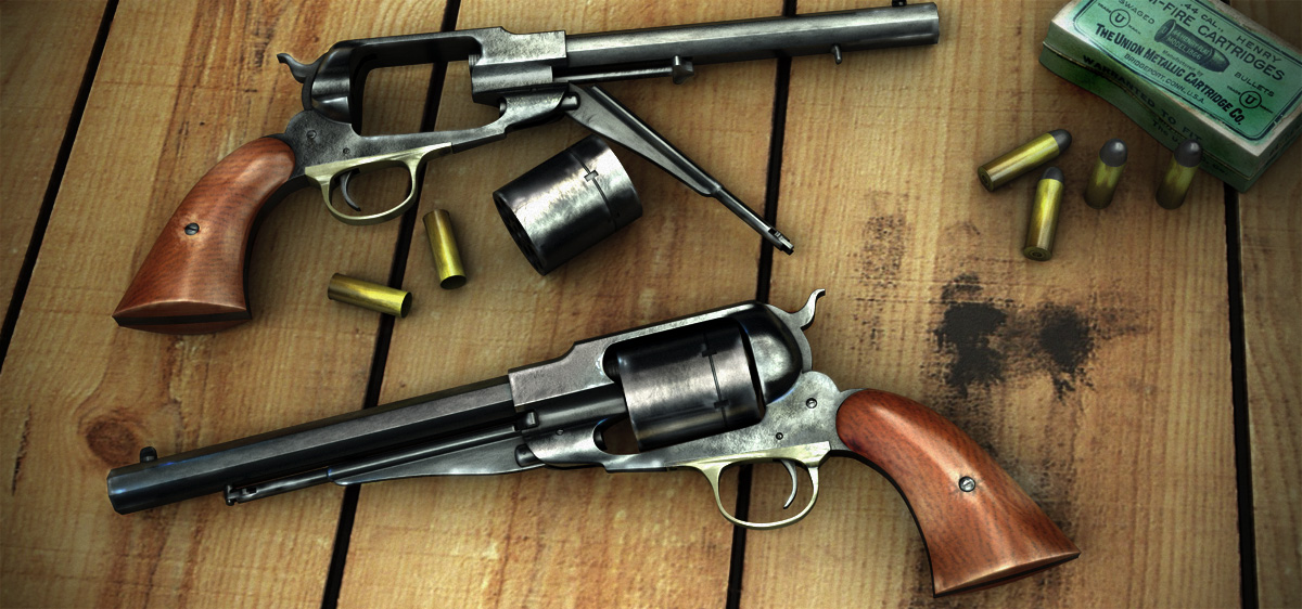 Tomas Burton Remington_1858_revolver_by_simjoy-d31zd92