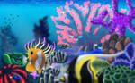 Reef Background by highray