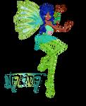 Commission 5/5: Nalima Sirenix by ShimmeringMagic