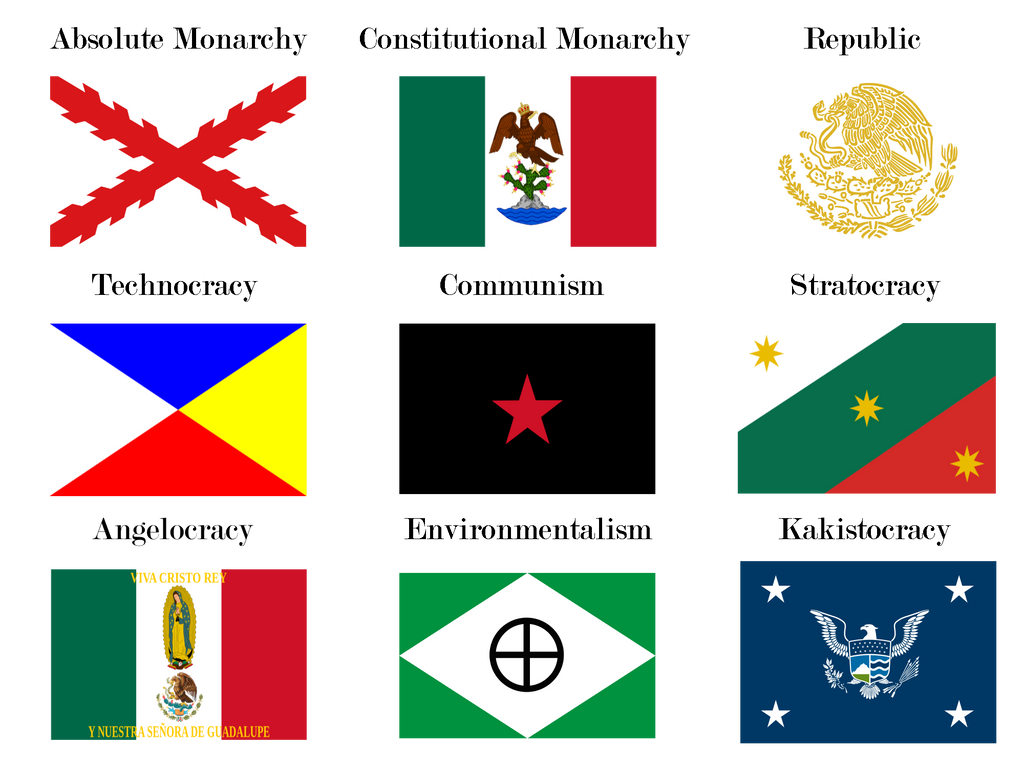Nine Governments Of Mexico By Steveearljones On Deviantart
