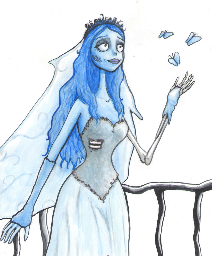 Coloring Pages Corpse Bride