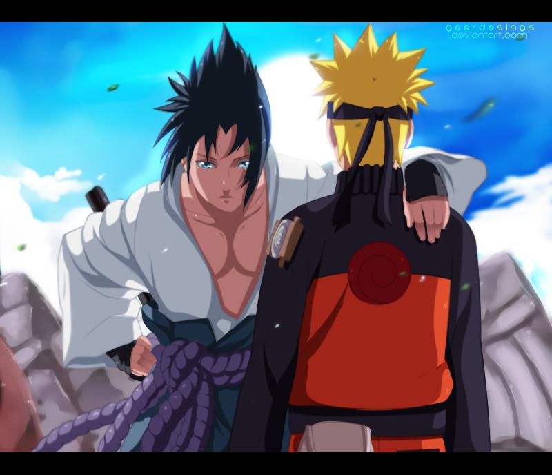 Collision ninja - Sasuke  Naruto by iGeerr