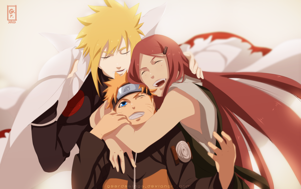 Love - Uzumaki and Namikaze Family by iGeerr