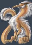 Color Doodlez: Fluff Dragon