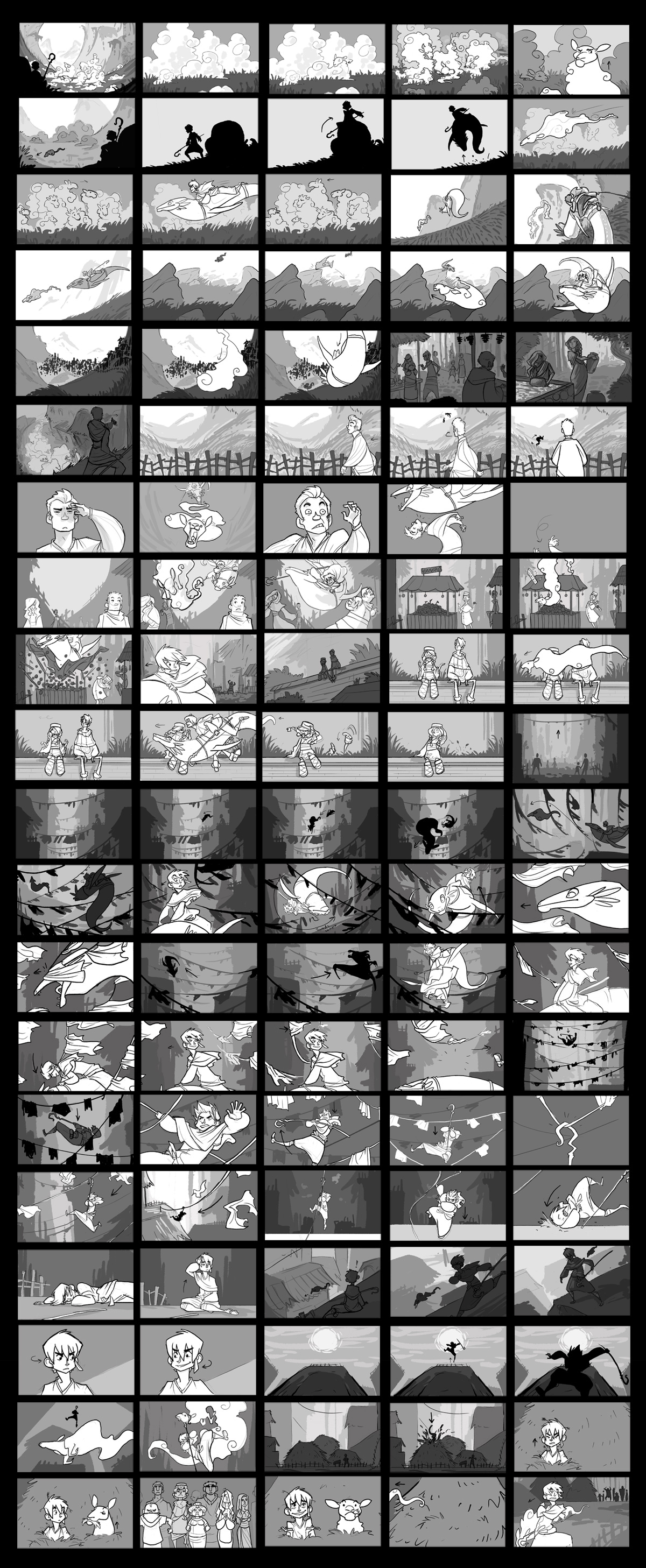 SH: Storyboarding by Turtle-Arts