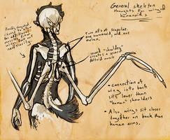 Humanoid Wing Anatomy Whatnot