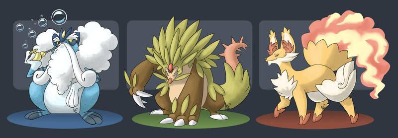 X + Y: Evolutions