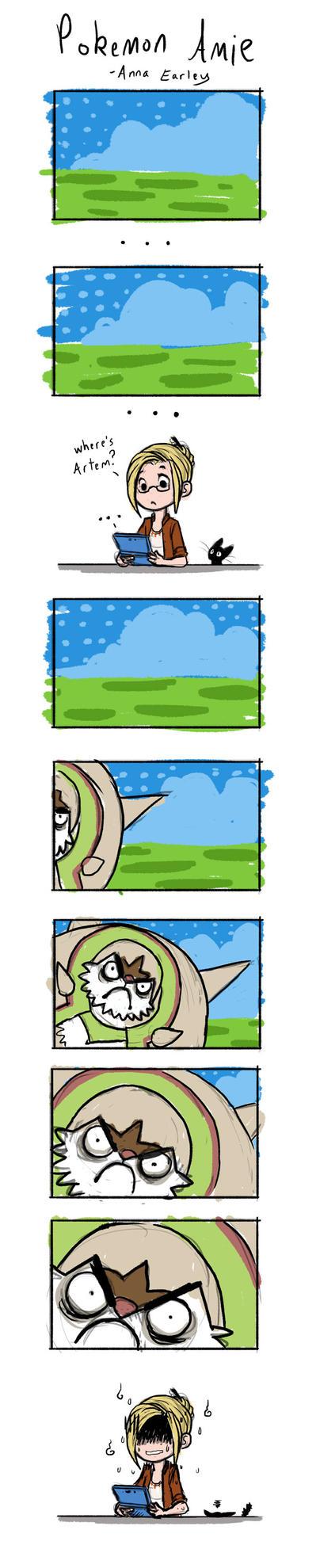 Pokemon Amie is kind of strange by Turtle-Arts