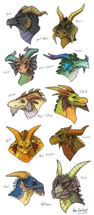 Spyro Dragons