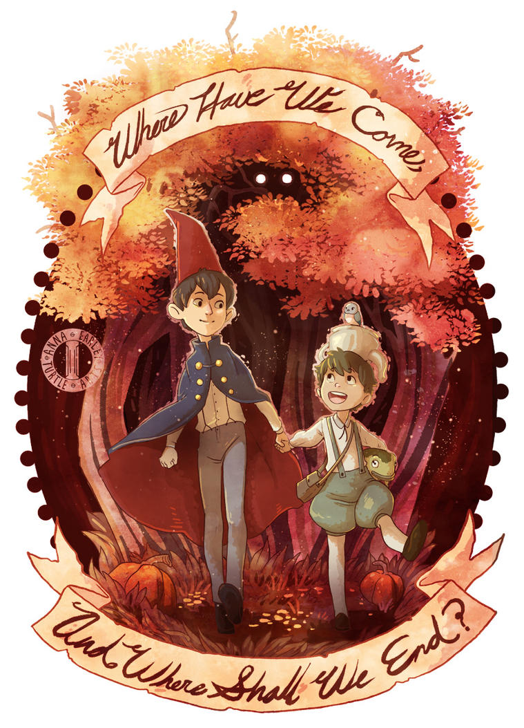 Over the Garden Wall by Turtle-Arts