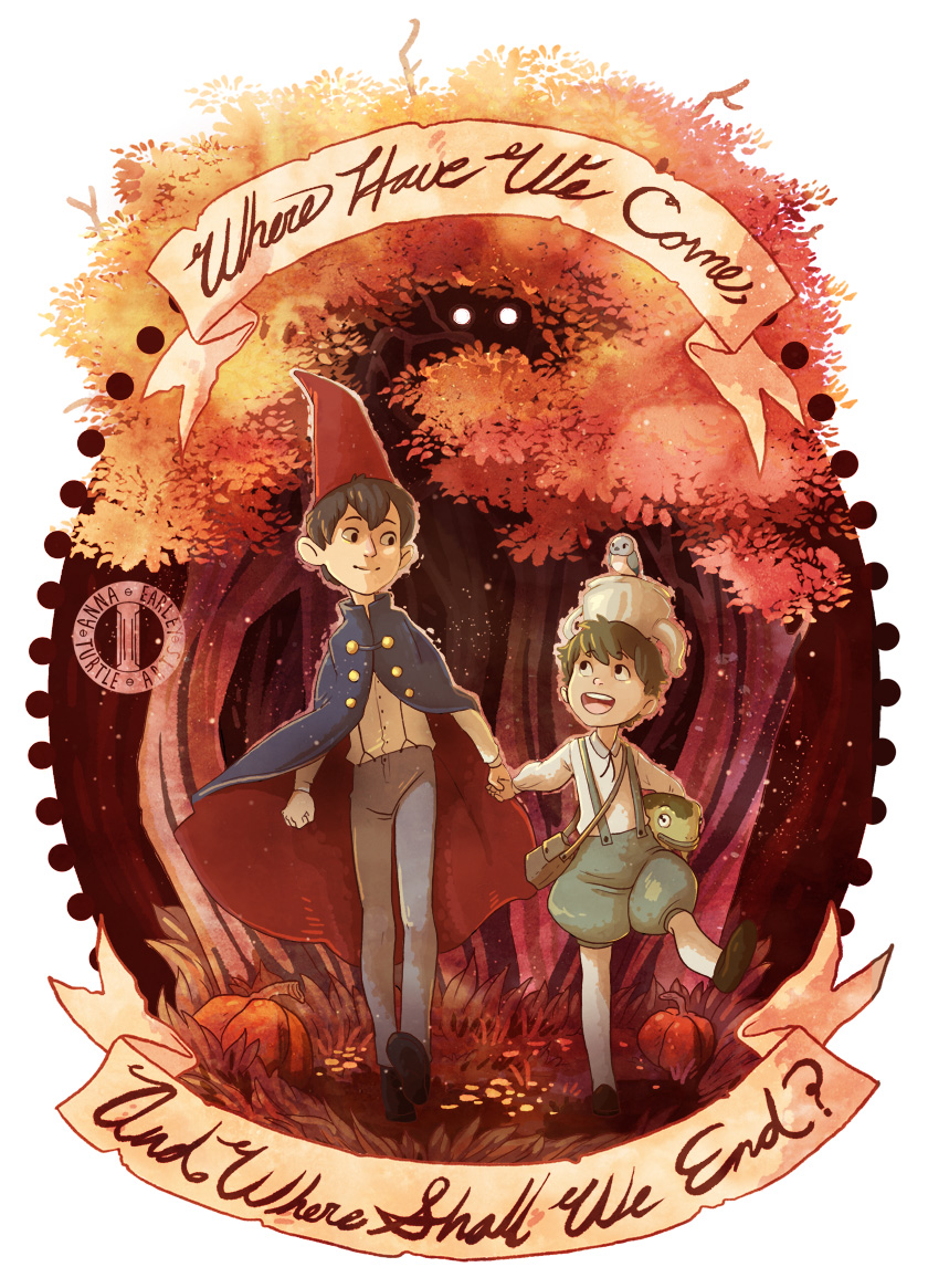 Over The Garden Wall By Turtle Arts On Deviantart