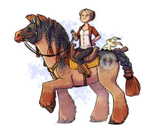 Mighty Steed!