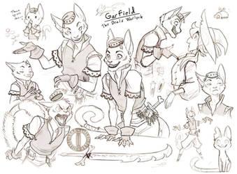 Garfield the Deals Warlock by Turtle-Arts