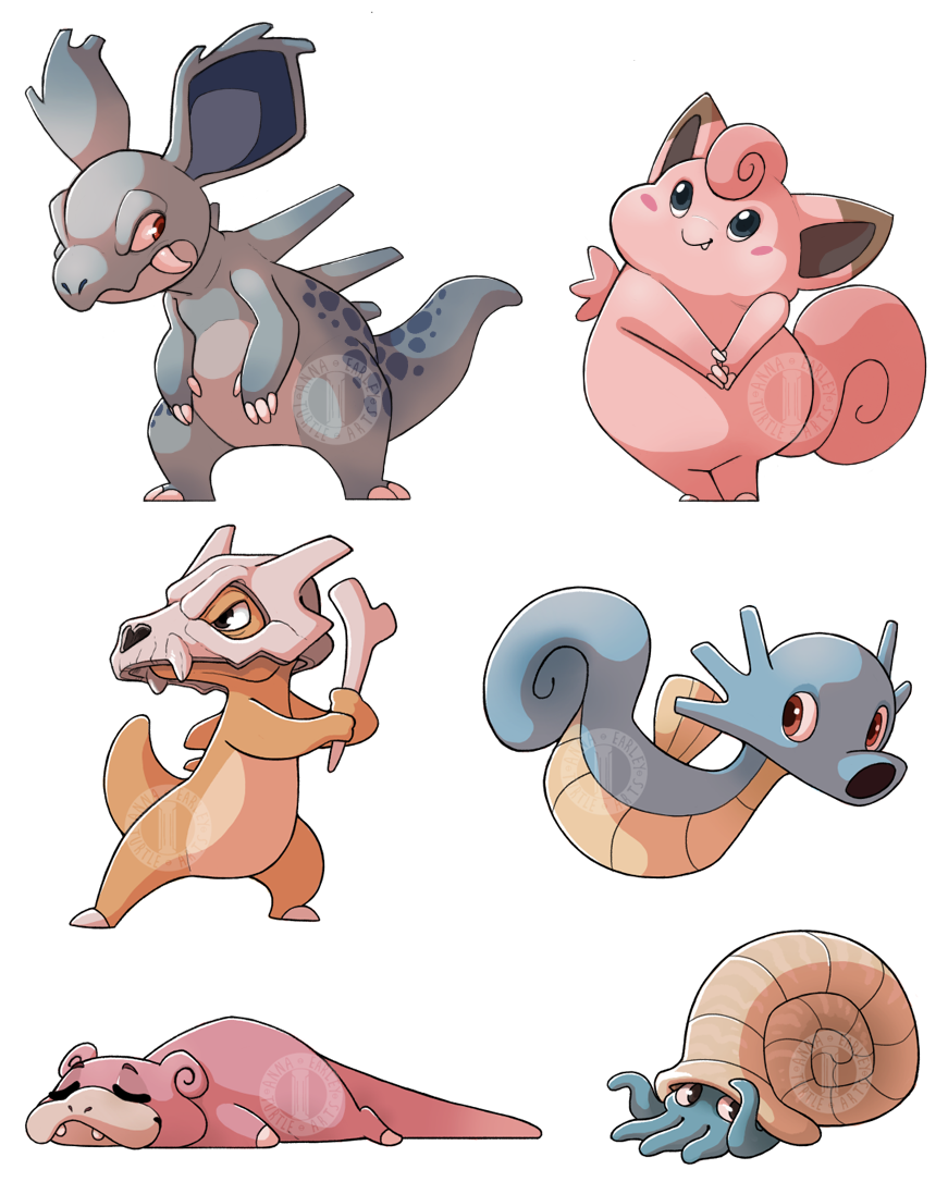 Pokemon! by Turtle-Arts
