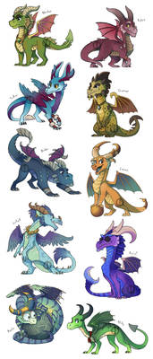 When I was a young dragon...