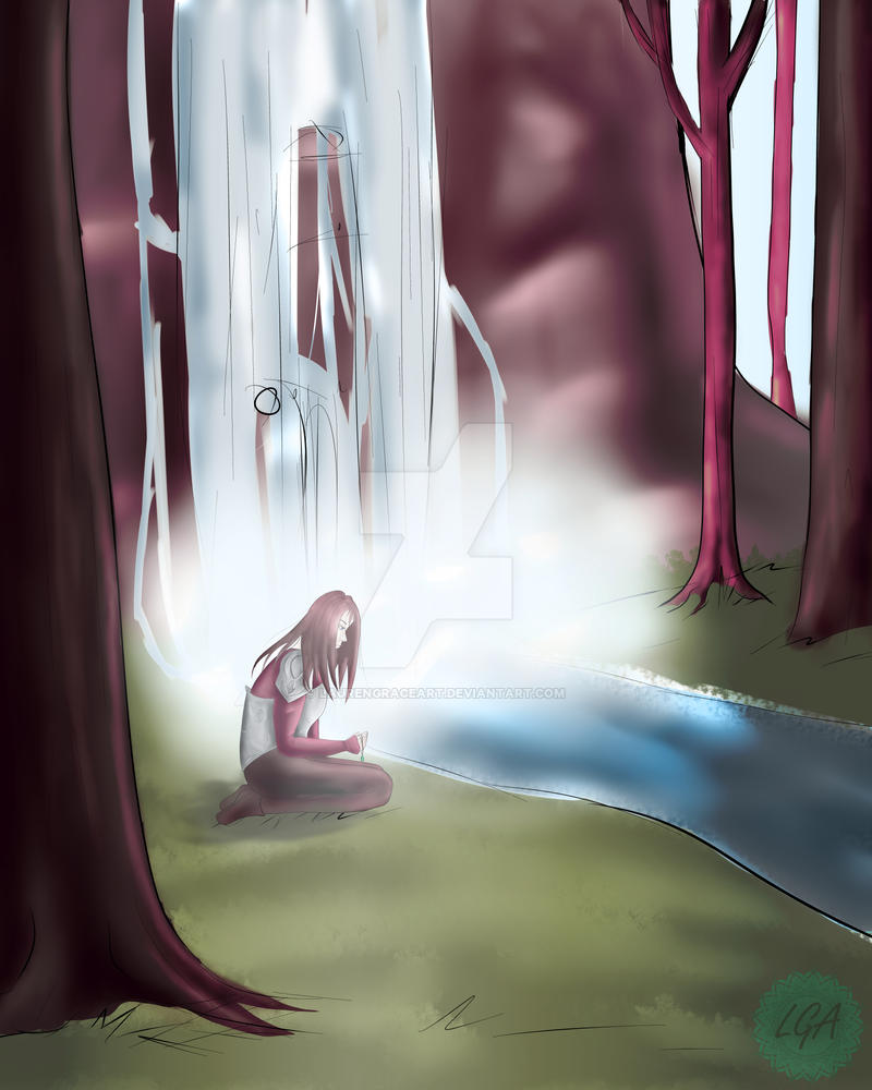 Warrior's Lament by LaurenGraceArt
