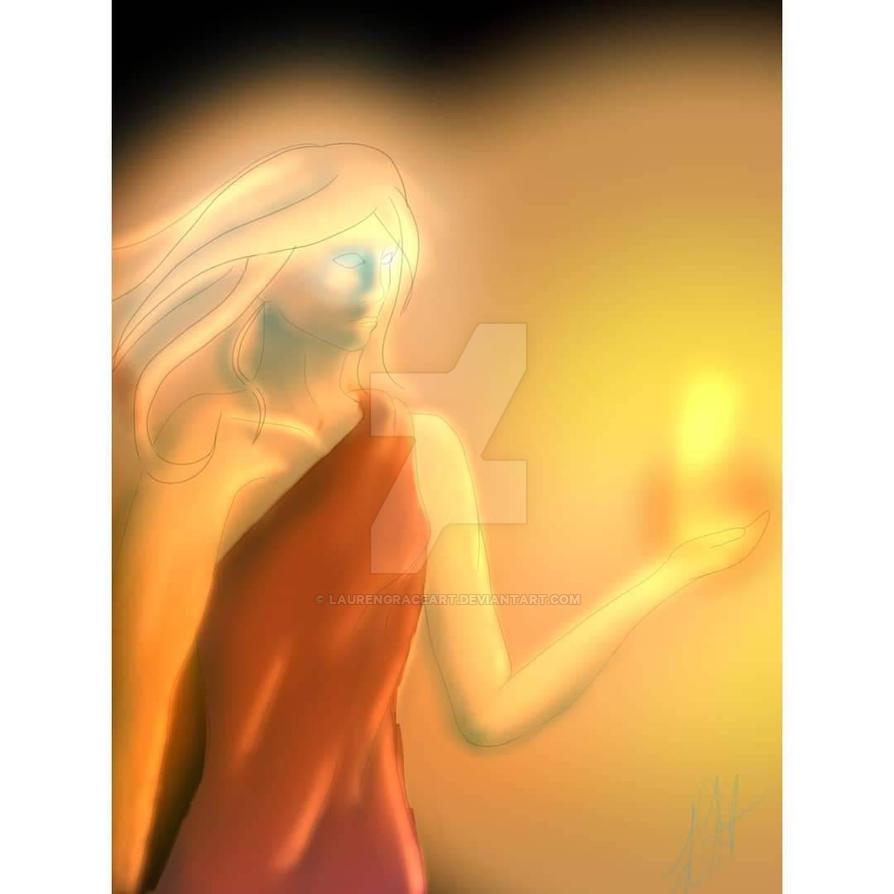 The Fire Goddess by LaurenGraceArt