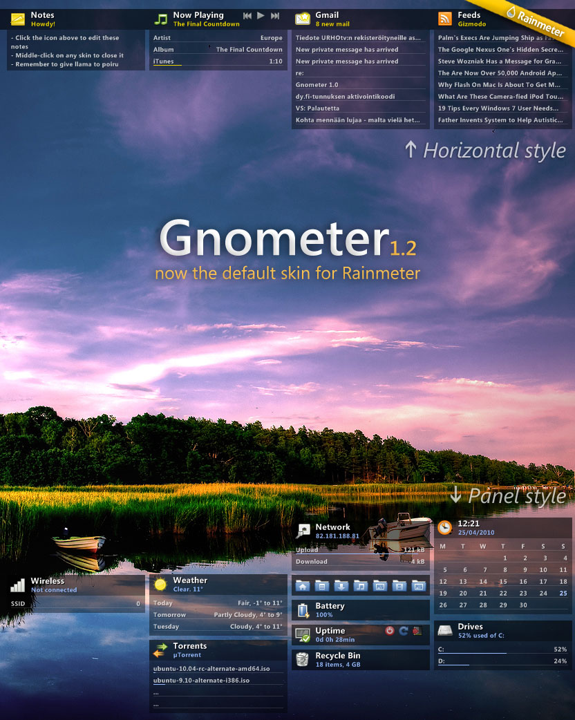 Gnometer 1.2 by poiru