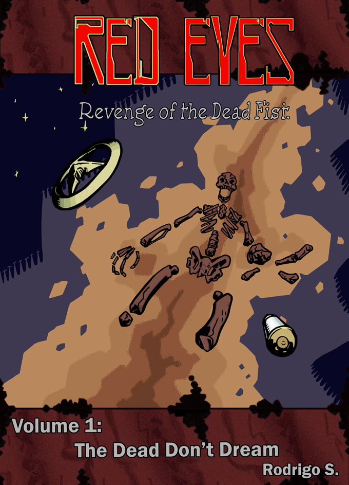 Red Eyes Portada by EfrieredNihil