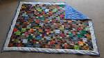 Batik Scrap Quilt Complete