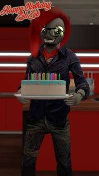 Birthday for the ZebZeb