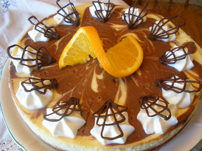 Orange Chocolate Cheesecake by RuinedTemple on deviantART