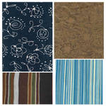 Patterned fabric textures
