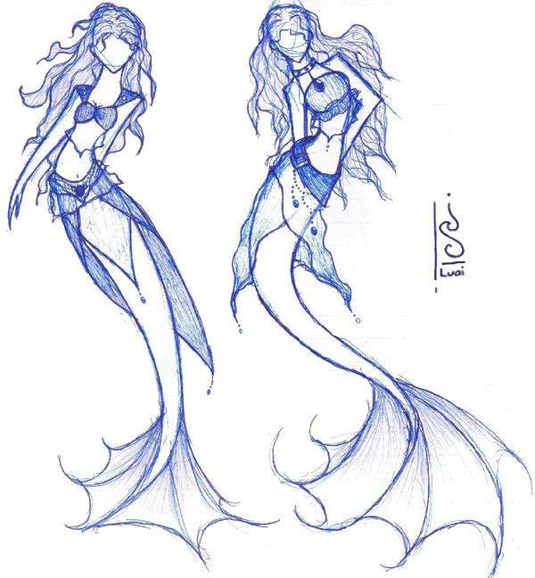 Math Mermaids By Luai-lashire On DeviantArt