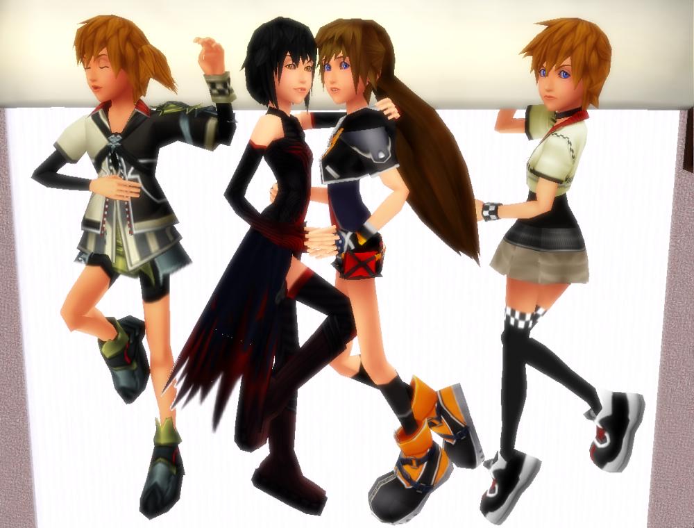 Kingdom Hearts MMD favourites by Zido on DeviantArt